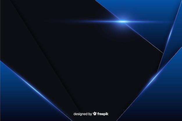 Textura de fundo azul metálico abstrato