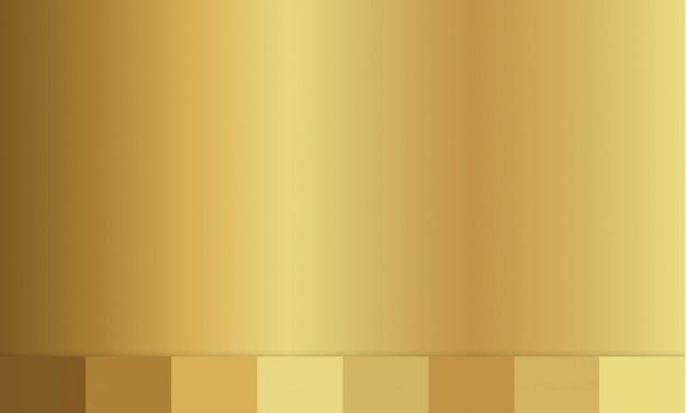 Textura de fundo dourado. ilustração do gradiente.
