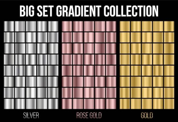 Textura de fundo gradiente coleção.