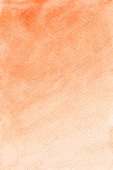 Textura de fundo laranja aquarela, papel digital