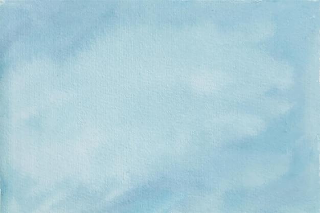 Textura de fundo pastel aquarela abstrato azul