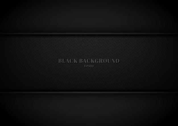 Textura de fundo preto metálico