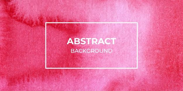 Textura de fundo vermelho banner web aquarela