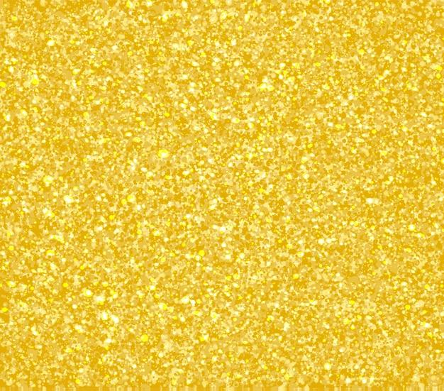 Textura de glitter dourados. partículas abstratas douradas. fundo de brilho cintilante.