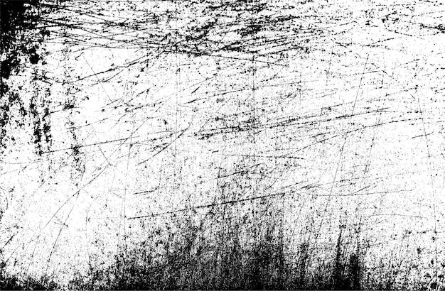 Textura de grunge de vetor com arranhões