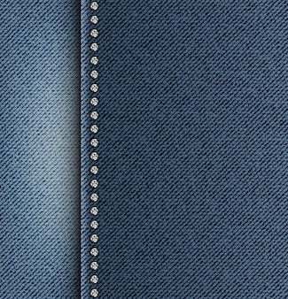 Textura de jeans com faixa lateral