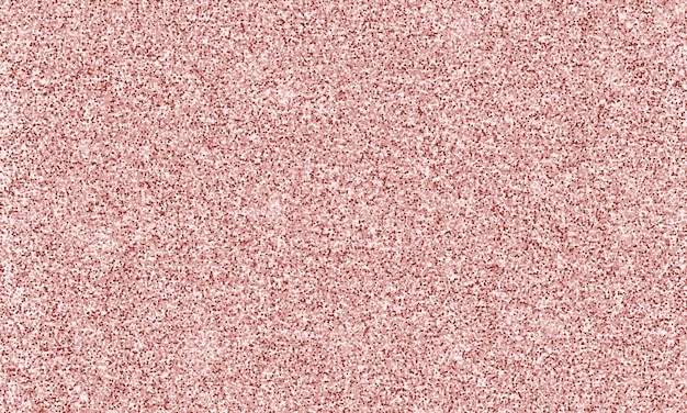 Textura de lantejoulas rosa sem costura isolada em fundo de ouro rosa confetes brilhantes de ouro rosa