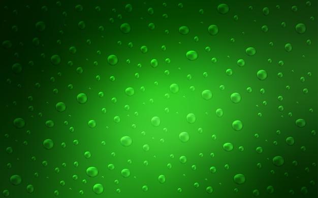 Textura de luz verde vetor com discos