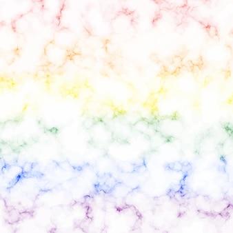 Textura de mármore colorida e fundo com bandeira do orgulho lgbt.