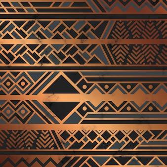 Textura de mármore com linhas geométricas douradas, superfície de mármore preto e branco