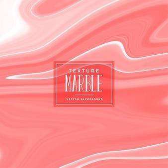 Textura de mármore líquida na cor pastel vermelho