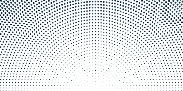 Textura de meio-tom circular
