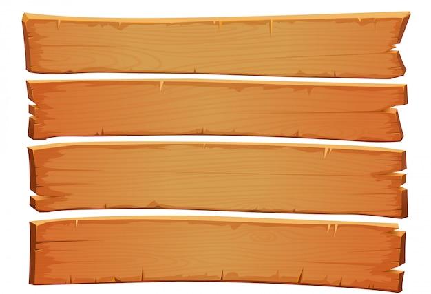 Textura de mogno de madeira do vetor. pranchas velhas de madeira gasto.