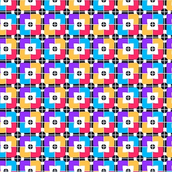 Textura de padrão geométrico descolado sem costura