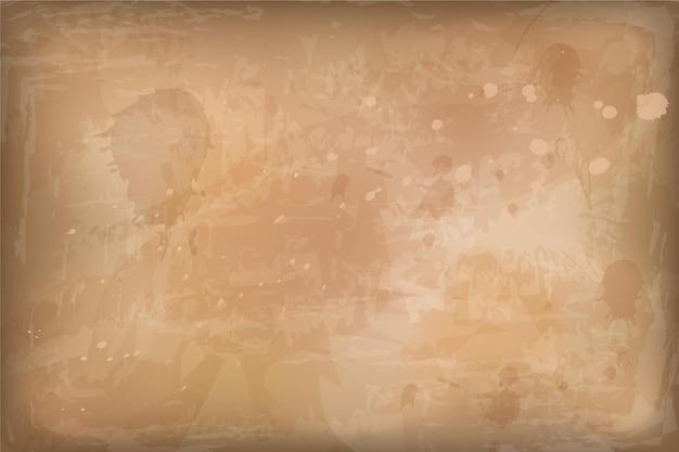 Textura de papel antiga realista com espaço em branco