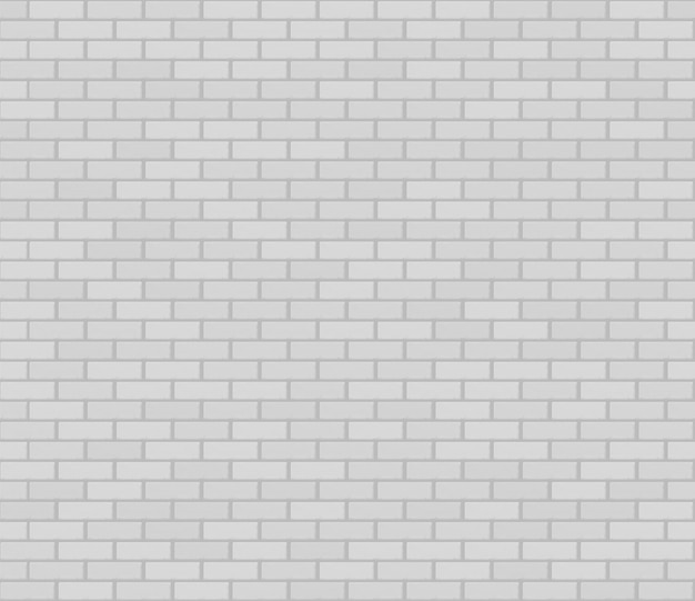 Textura de parede branca realista sem costura alvenaria.