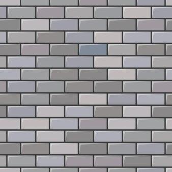 Textura de parede de tijolo cinza. plano de fundo transparente. ilustração vetorial