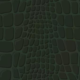 Textura de pele de crocodilo.