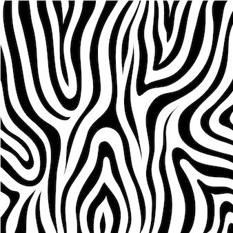 Textura de pele de zebra em preto e branco, padrão, fundo