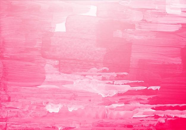 Textura de pincel aquarela rosa abstrata