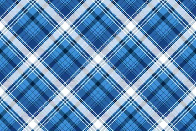 Textura de tecido azul tartan