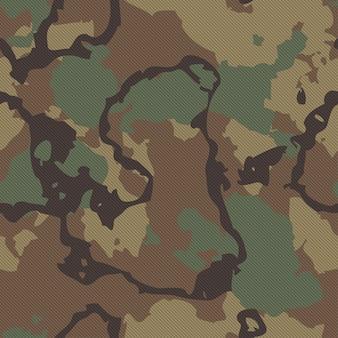 Textura de tecido de camuflagem perfeita de alta qualidade