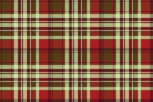 Textura de tecido sem costura diagonal clássico tartan vermelho