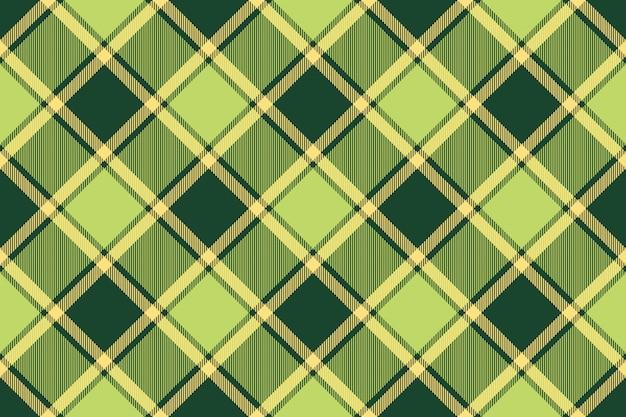 Textura de tecido verde abacate tartan sem costura