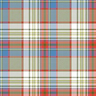 Textura de tecido xadrez pixels quadrados camisa sem costura padrão