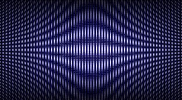 Textura de tela conduzida. monitor lcd com pontos. display digital de pixels. efeito de diodo eletrônico.