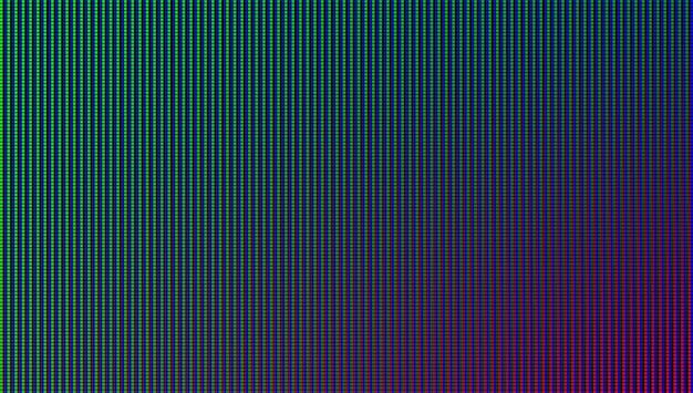 Textura de tela conduzida. monitor lcd. display analógico digital. efeito de diodo eletrônico.