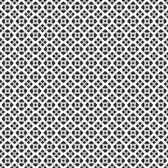 Textura de telha padrão geométrico moderno para plano de fundo com cor preto e branco