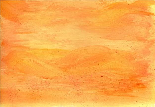 Textura de tinta acrílica laranja clara