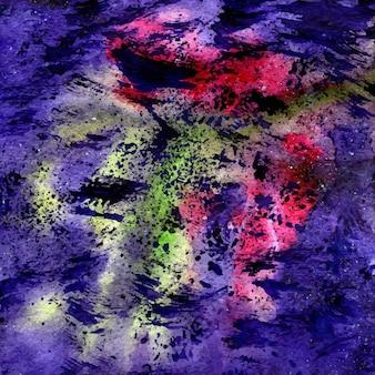 Textura do espaço aquarela. ilustração do vetor