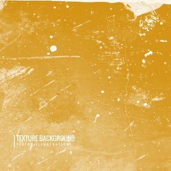 Textura do fundo do grunge na cor amarela