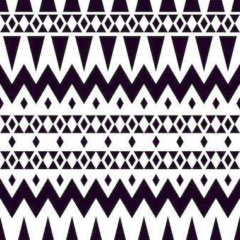 Textura do vetor tribal. padrão de xadrez geométrico.