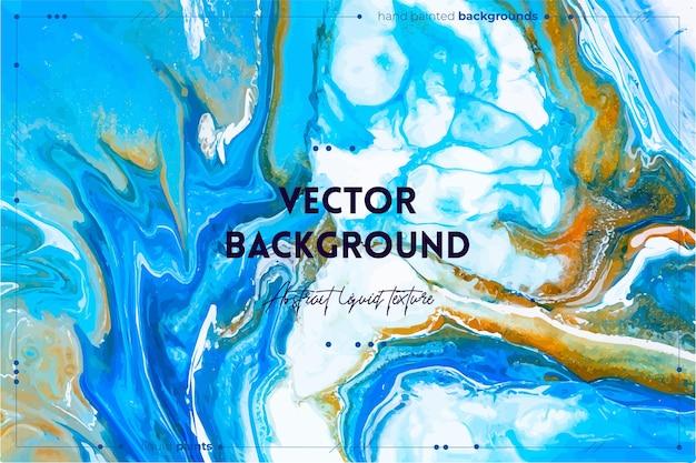 Textura fluida de arte. efeito de tinta turbilhão abstrato. arte em acrílico líquido com belas tintas mistas.