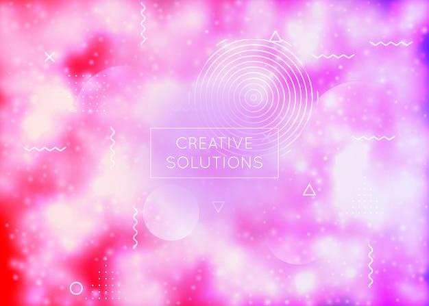 Textura hipster. tela suave. pontos de movimento. fundo moderno. apresentação retro roxa. flyer dinâmico. padrão de gradiente. composição iridescente mágica. textura hipster azul