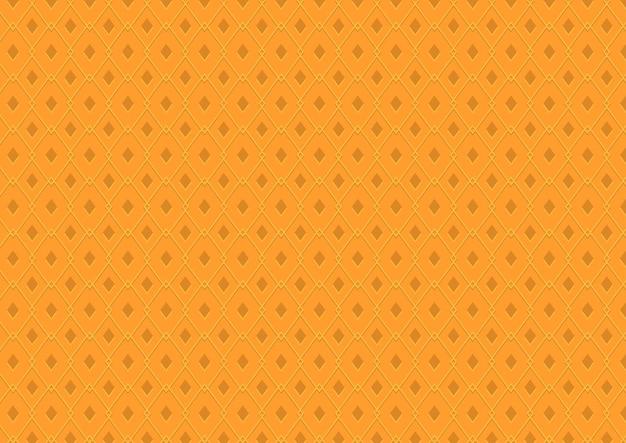 Textura laranja sem costura com padrão de diamante