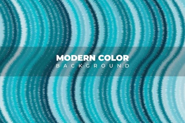 Textura líquida onda verde de cor de arte fluida