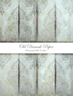 Textura padrão damasco