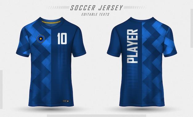 Textura para camisa de futebol de futebol