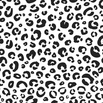 Textura perfeita de padrão leopardo fundo de vida selvagem de chita pele de animal papel para scrapbook