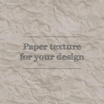 Textura perfeita de papel amassado padrão de repetição cor laranja