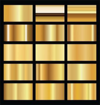Textura realista de fundo dourado