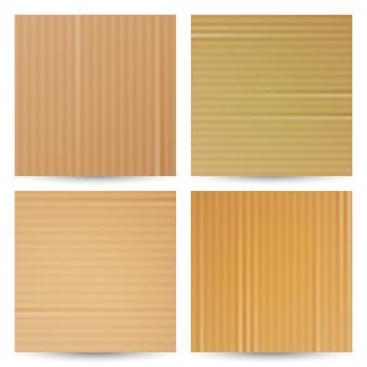 Texturas de papelão