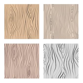 Texturas repetitivas de grão de madeira