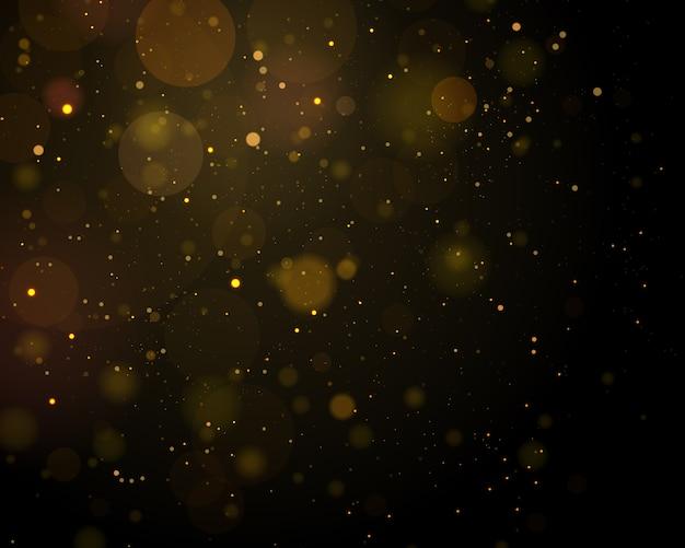Texture o sumário preto e branco ou de prata do sumário do fundo e elegante para o natal. poeira branca. partículas de poeira mágica cintilante. conceito mágico. abstrato com efeito bokeh.