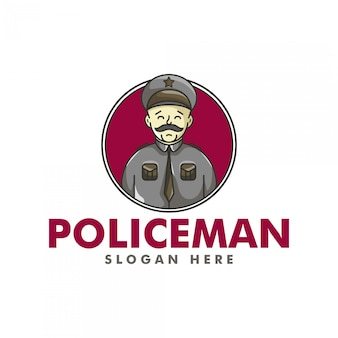 The policeman logo