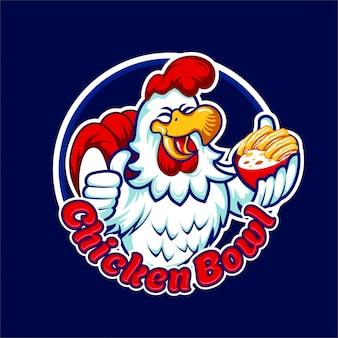 Tigela de frango